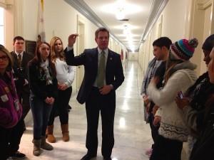 Congressman Eric Swalwell met his Castro Valley constituents.