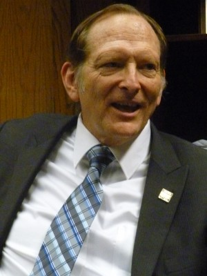 Assemblyman Bill Quirk talked about his goals in office. Photo by Reema Kakaday
