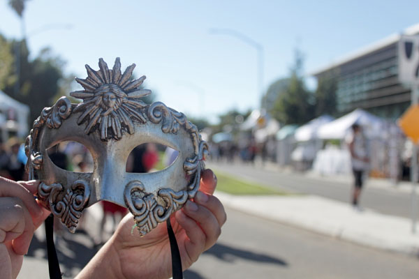 Beautiful arts and crafts were showcased at the Fall Festival.