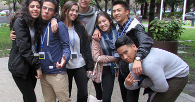 Castro Valley DECA club travels to San Ramon for competition