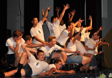 Varsity cheer puts on another successful Mr. CV