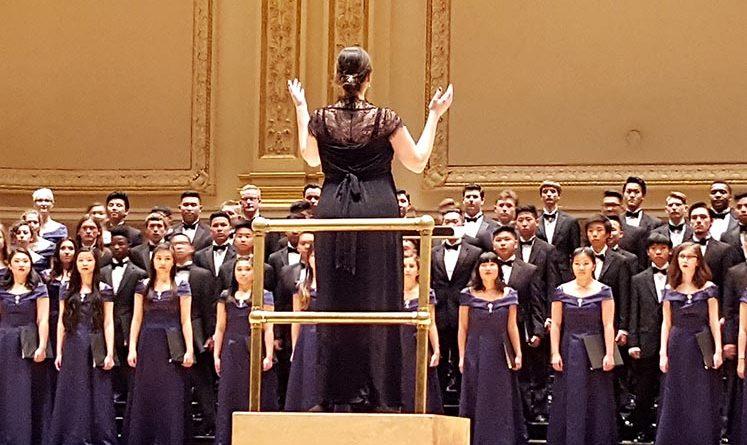 CVHS A Capella choir performs at Carnegie Hall