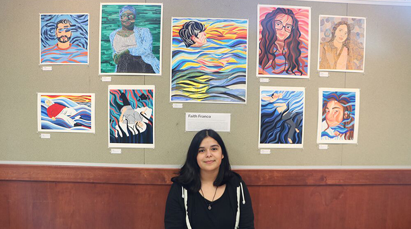 Seniors showcase their art projects at AP Art Show
