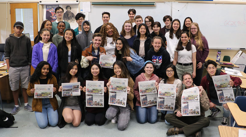 Journalism students thrive in banner year