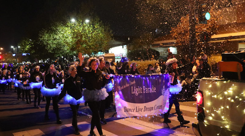 Parade lights up the boulevard just in time for the holidays