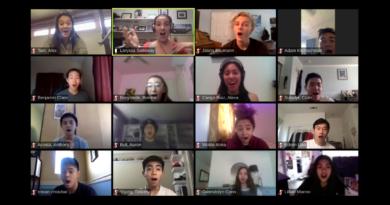 CVHS choirs sing virtually
