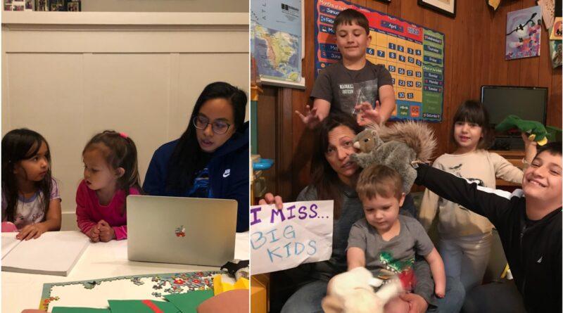 Multitasking teachers balance teaching and parenting