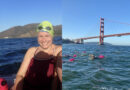 Tough teacher swims seven miles