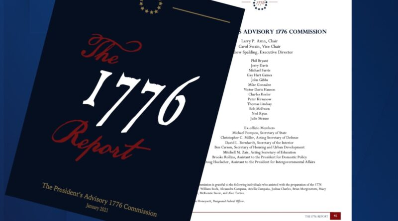 1776 Commission disappears into history