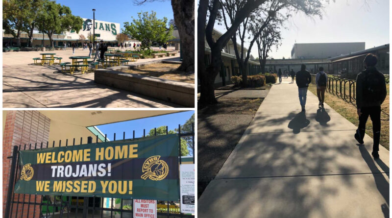 Students return as infections force quarantines